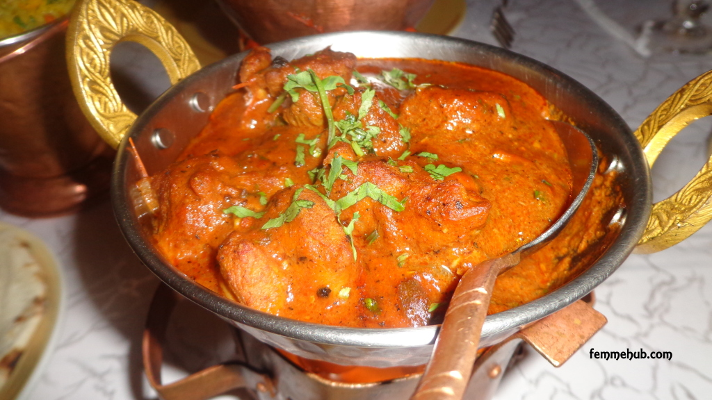 InterContinental Nairobi Mutton Curry