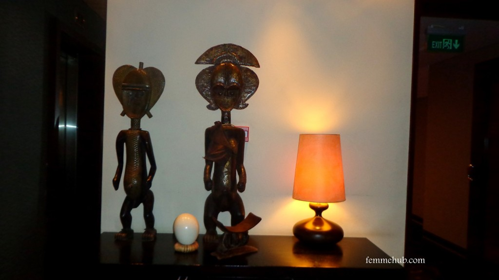 Tribal Art Lamp Paint
