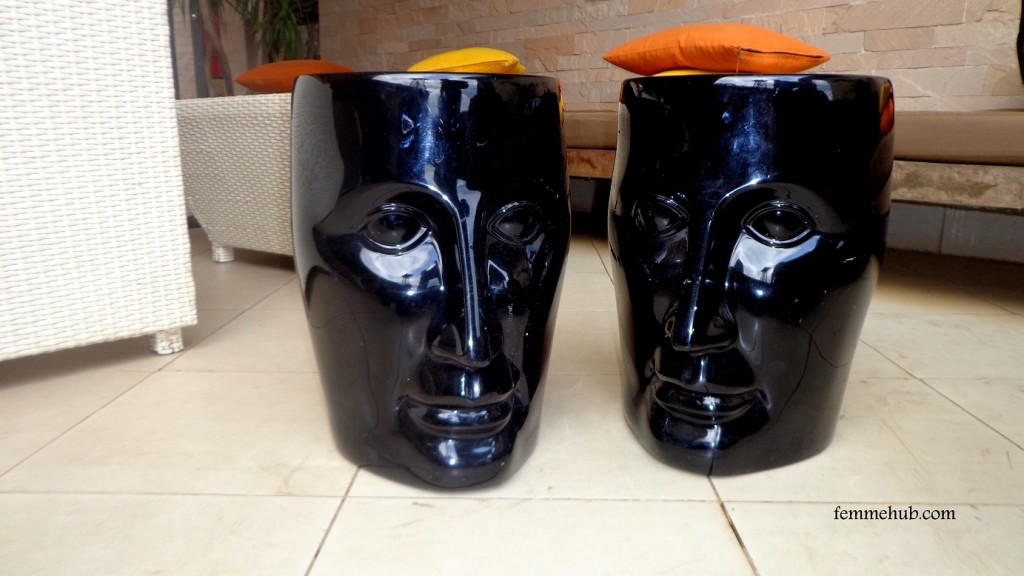 Tribe Hotel Bar Stools Paint
