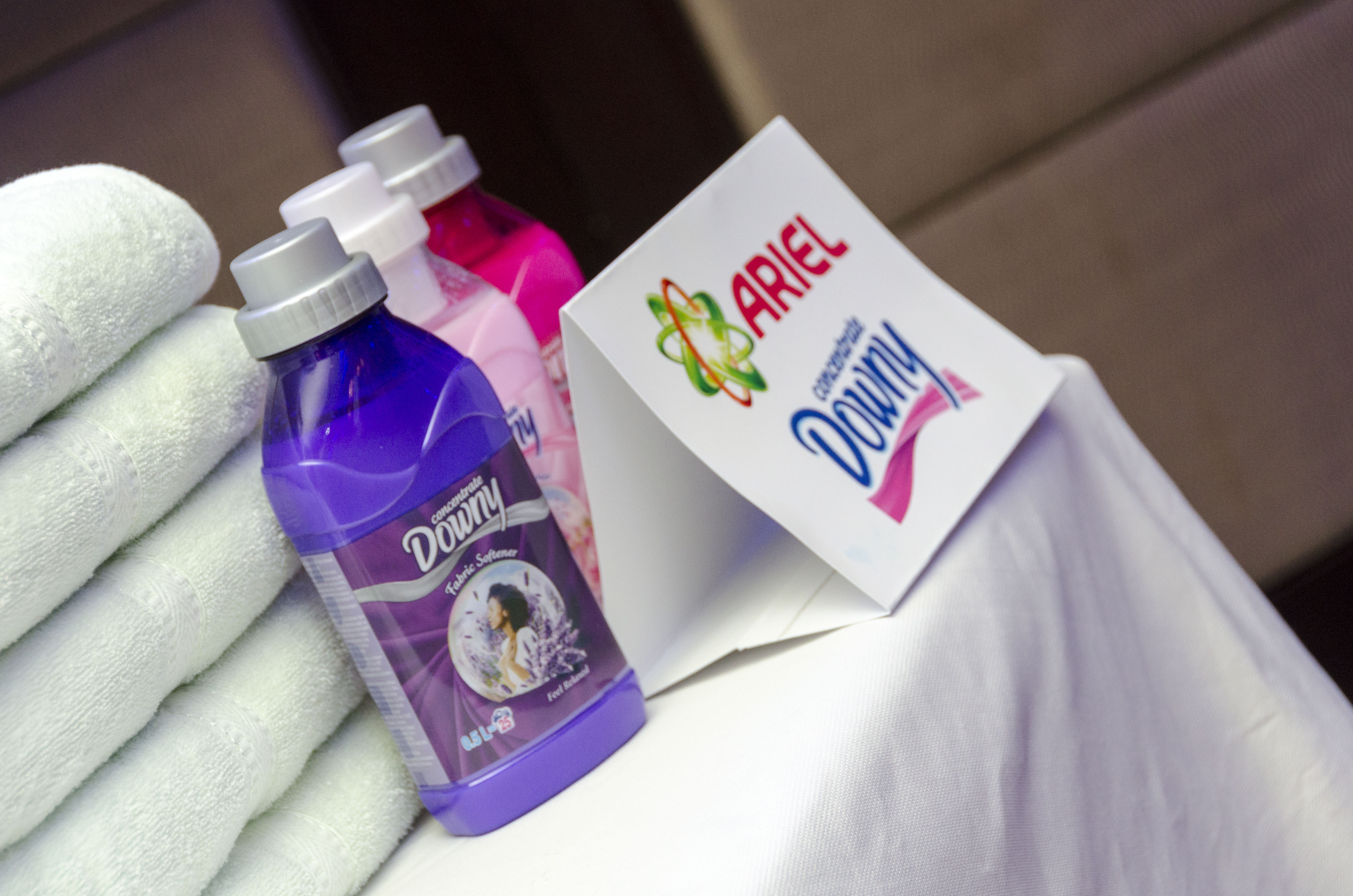 how to get downy fabric softener stains out of clothes