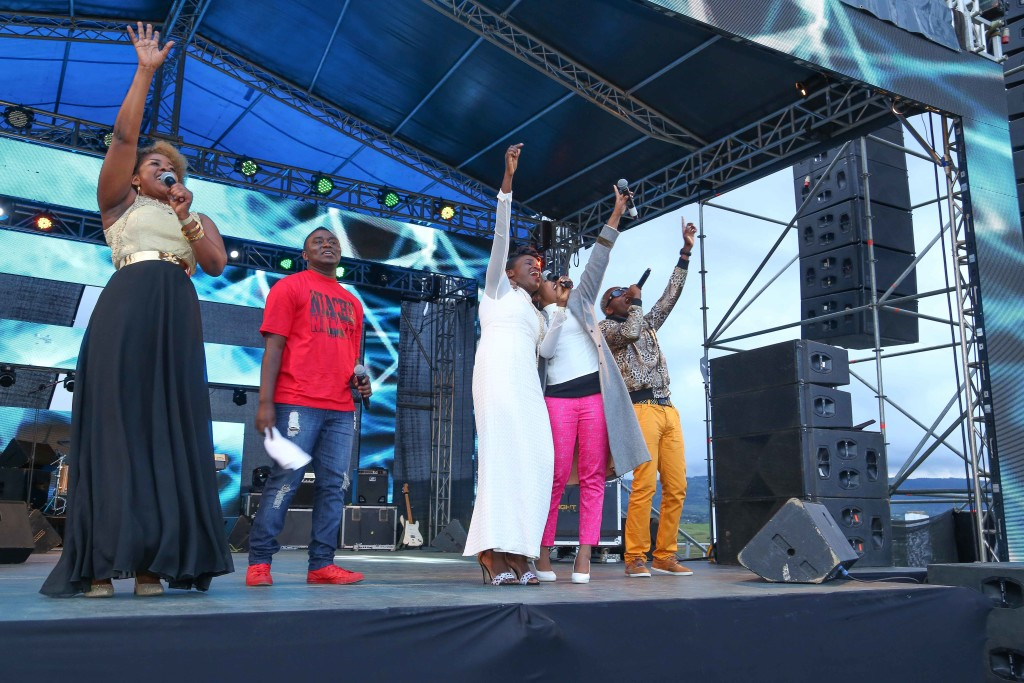 Gloria Muliro, Piston, Mercy Masika, Size 8 and Daddy Owen