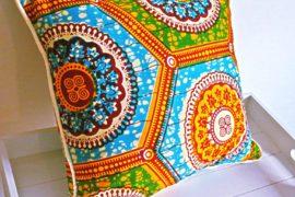 African Cushion