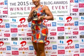 Jane Mukami, Winner of Best Health Blog