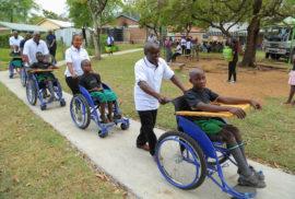Safcom Wheelchair Handover