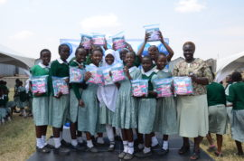 P&G in partnership with retailers to increase provision of sanitary pads for needy girls across Kenya.