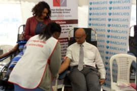 Barclays Blood Drive