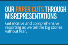 Paper Cuts Misrepresenation