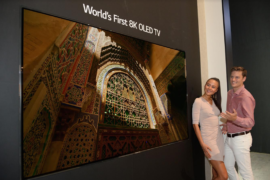 LG First 8K TV