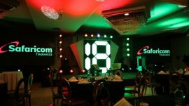 Safaricom at 18