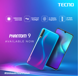 Phantom 9 Availability