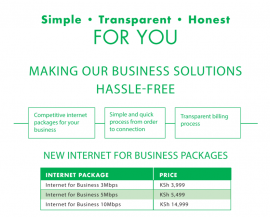 Safaricom For Business